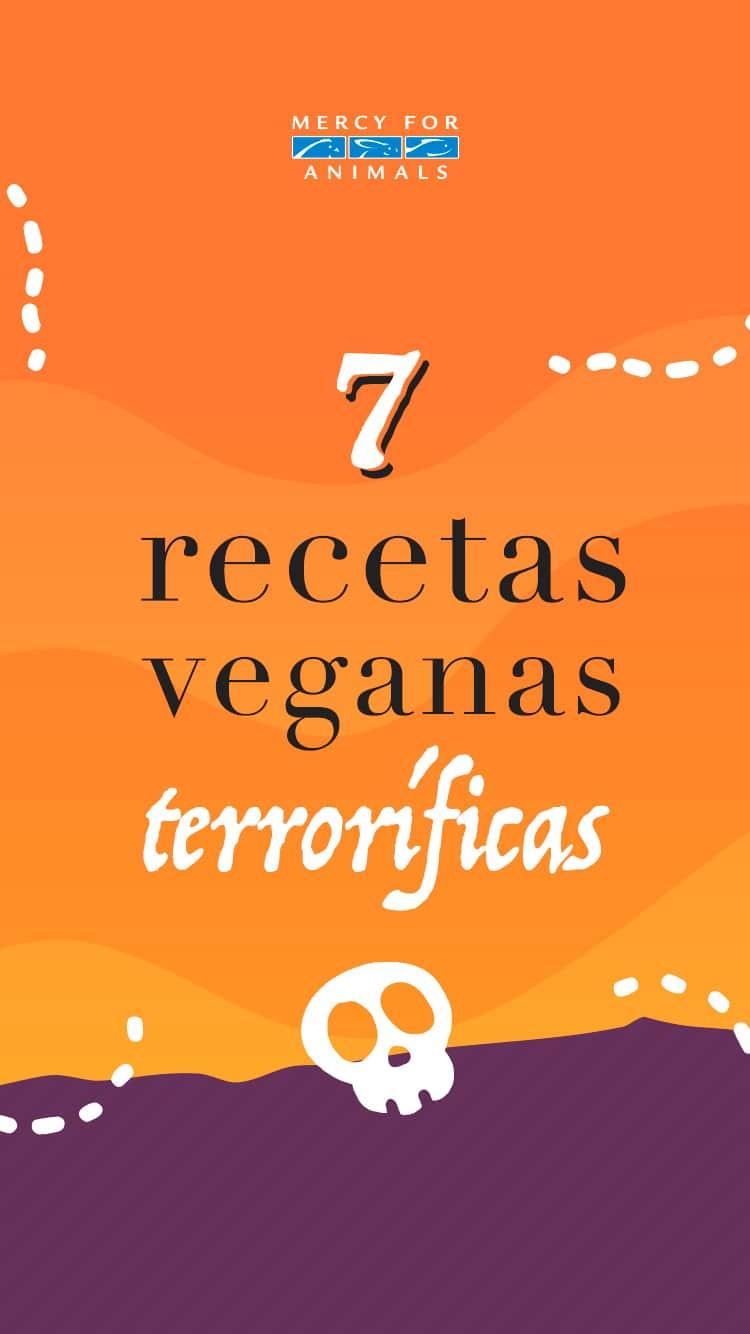 7 recetas veganas y terroríficas para Halloween 👻 💀