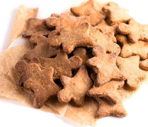 galletas de jengibre veganas sin gluten
